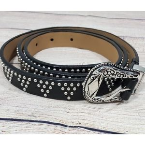 New w/o Tags! Lovestrength Leather Studded Belt